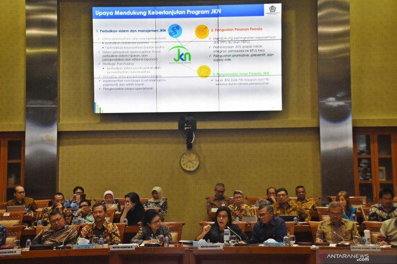 Pemerintah naikkan target penerimaan BPJS Kesehatan  dari iuran