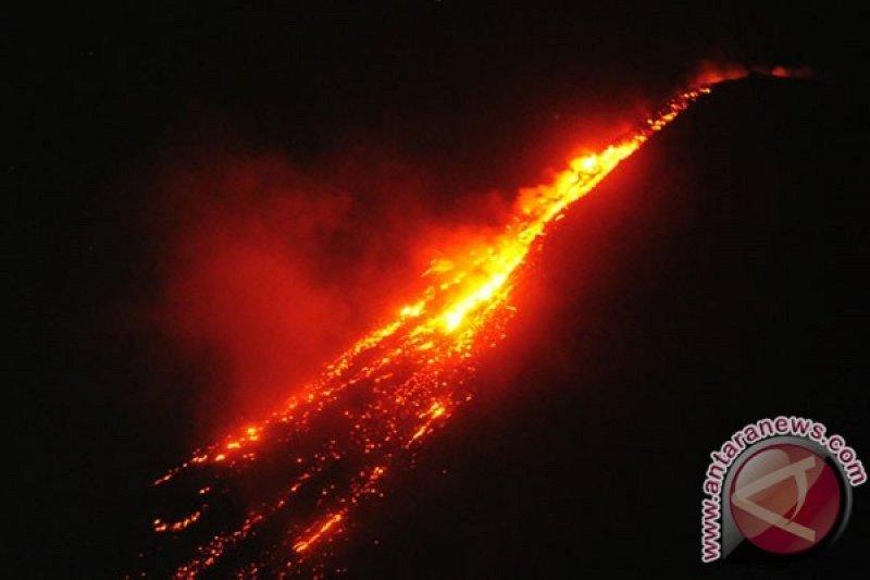 PVMBG harap masyarakat waspadai awan panas guguran Gunung Karangetang