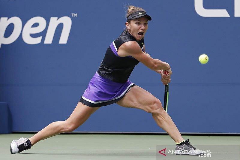 Taylor Townsend hentikan Simona Halep di putaran dua US Open