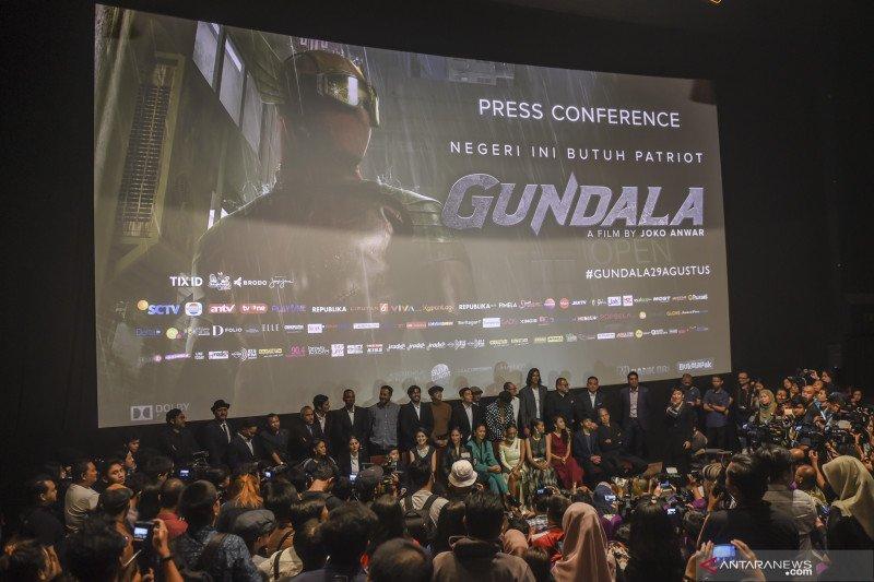 Film Gundala syuting di 70 lokasi tanpa kunci kroma