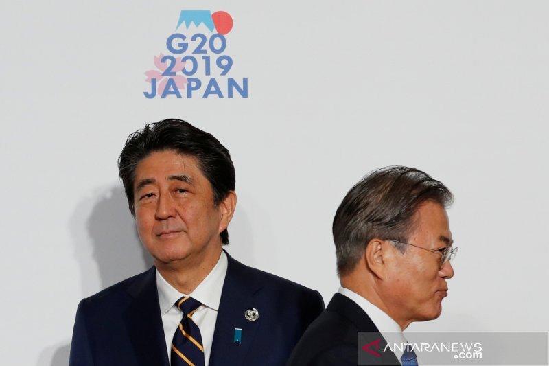 Pemerintah Jepang dan Korsel kembali berseteru soal perjanjian intelijen