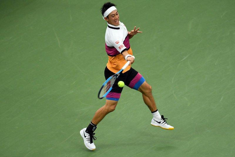 Nishikori melaju ke babak ketiga US Open