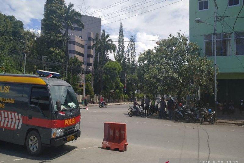 Situasi mencekam, aktifitas masyarakat di Kota Jayapura lumpuh