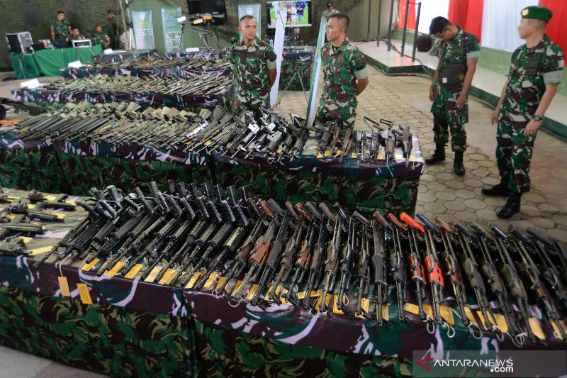 KSAD imbau masyarakat Aceh serahkan senjata secara sukarela