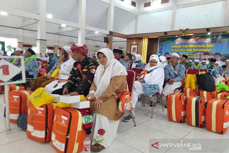 12.915 haji dipulangkan melalui Debarkasi Surakarta