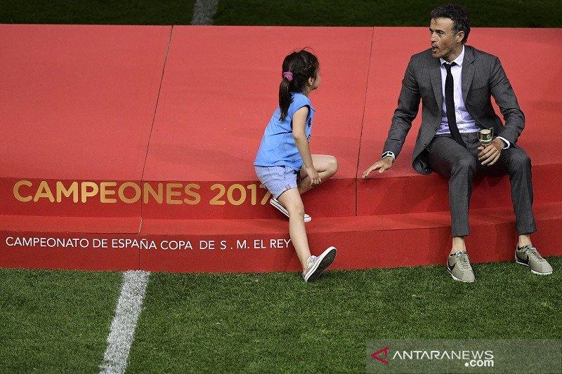 Luis Enrique umumkan kepergian putrinya akibat kanker