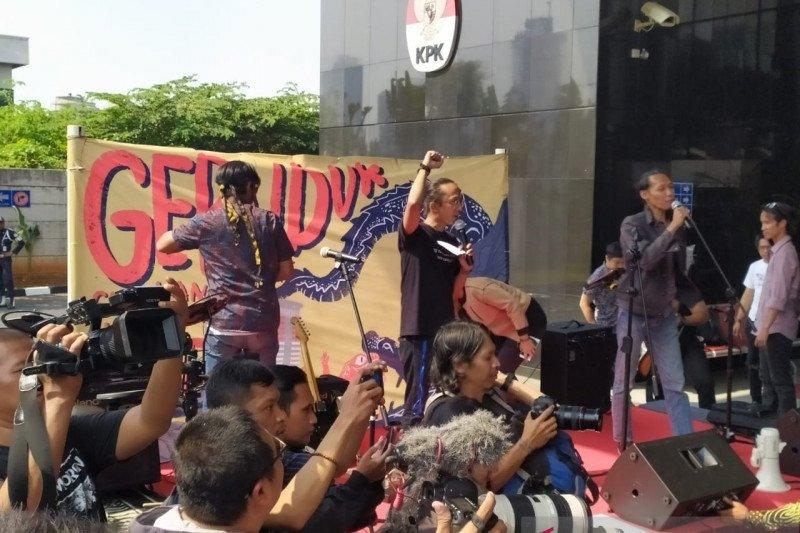Koalisi minta Presiden Jokowi tidak loloskan capim KPK  bermasalah