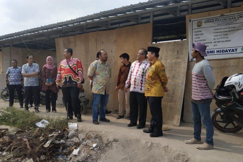 Pemkot Bandarlampung bantu Itera bangun asrama mahasiswa