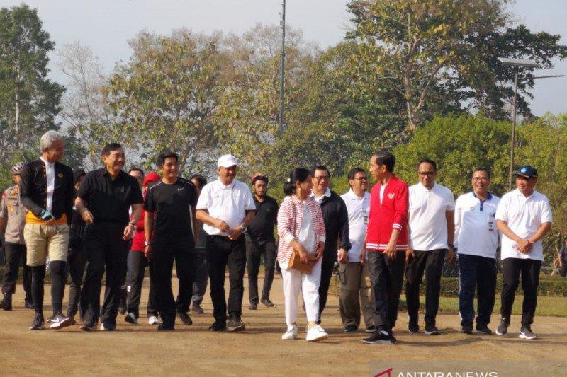 Presiden Jokowi targetkan pengembangan empat destinasi prioritas selesai 2020