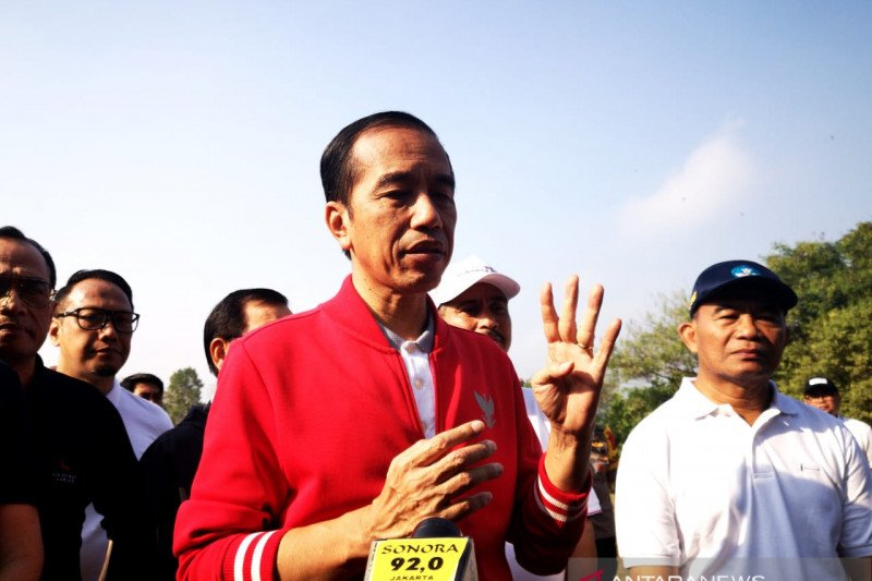 Kata Jokowi, kemajuan pengembangan empat destinasi wisata prioritas masih lambat