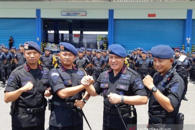 Polda Sumsel kirim bantuan 250 personel  Brimob ke Papua