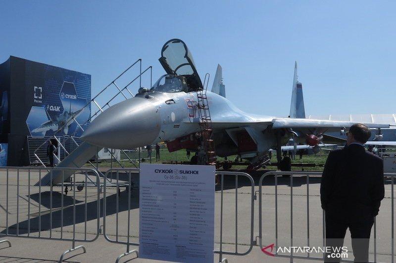 Mahfud MD rapat bareng Prabowo soal pengadaan Sukhoi Su-35