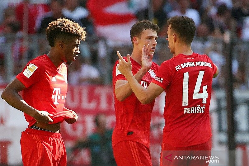 Bayern Muenchen bangkit dan cukur Mainz 6-1
