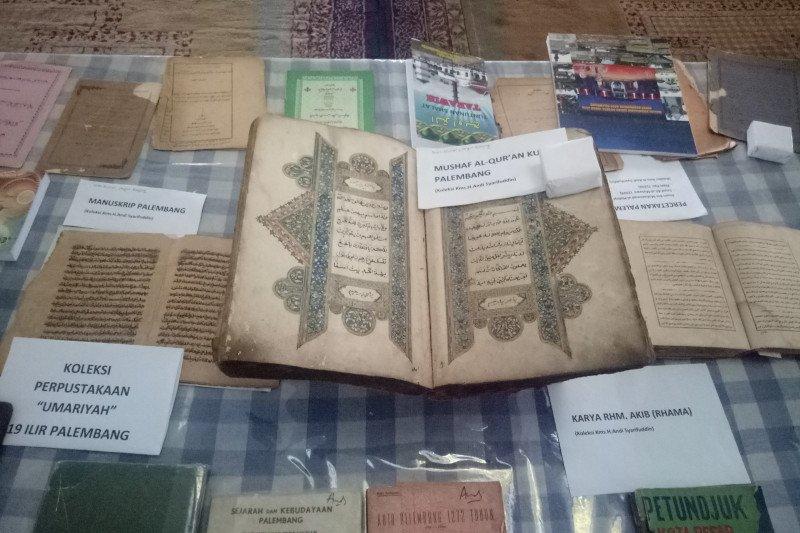 Pekan Pustaka Palembang pamerkan naskah belum pernah dipublikasikan