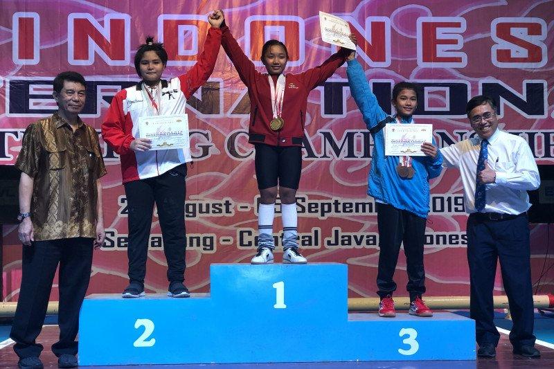 Atlet asal Pacitan raih emas nomor pre youth putri +40kg IIWC