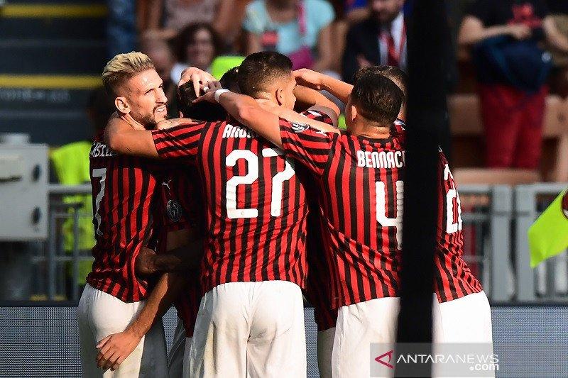 Kemenangan perdana Milan bersama Giampaolo