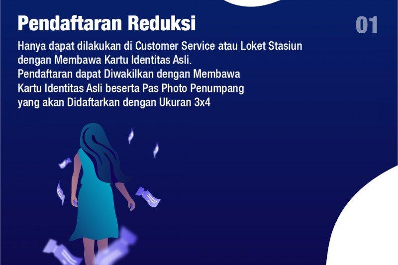 Mulai 1 September tiket reduksi bisa dibeli via KAI Access