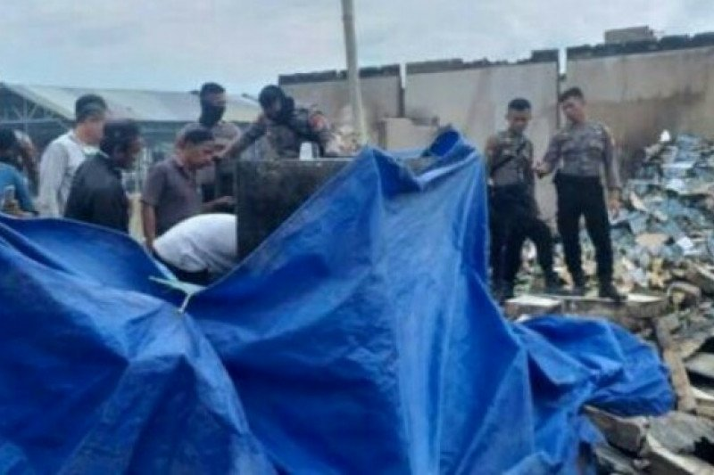 Polisi tangkap pelaku pembakaran Pasar Topoyo Mamuju Tengah