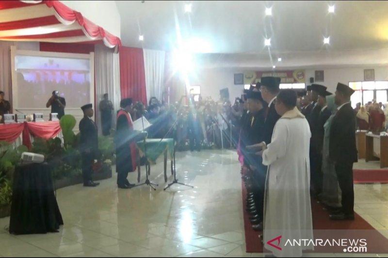 35 anggota DPRD Kota Sukabumi 2019-2024 dilantik