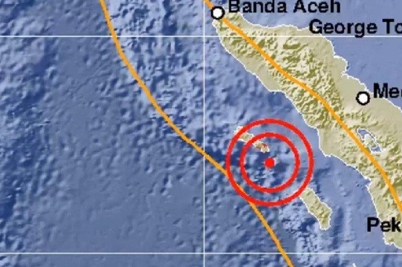 Aceh diguncang gempa magnitudo 5