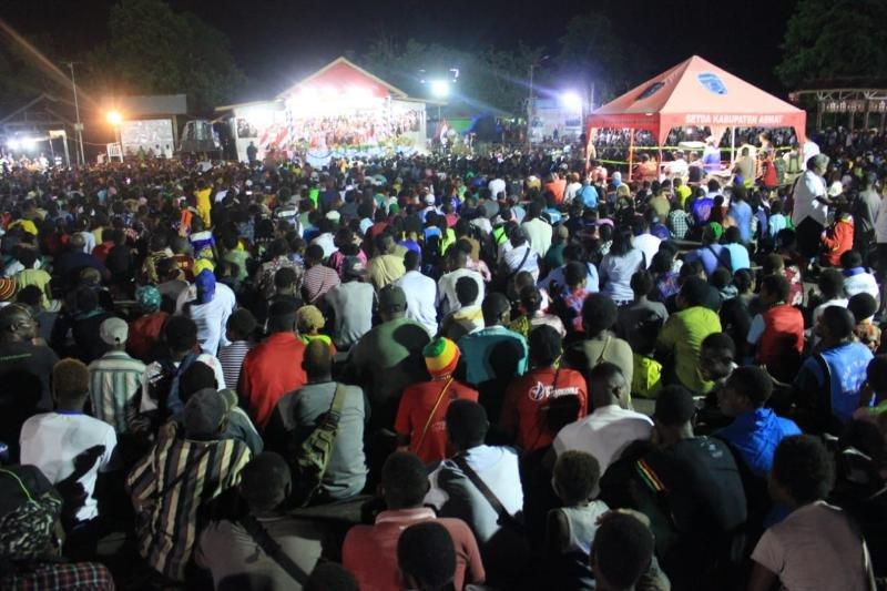 Ribuan orang hadiri Festival Persahabatan di Agats