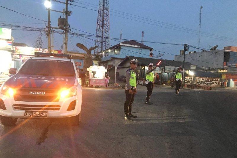 Polres Mesuji tingkatkan patroli pengamanan di daerah perbatasan
