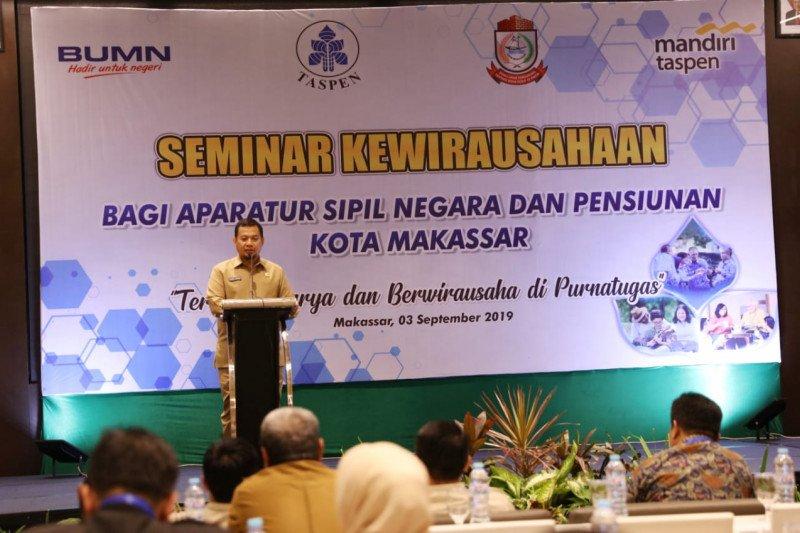 Pj Wali Kota buka seminar kewirausahaan bagi ASN Pemkot Makassar