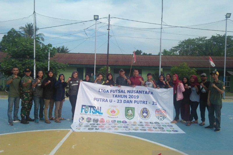 Tim Putri Den Rudal Dumai wakil Riau di Futsal Seri Sumatera
