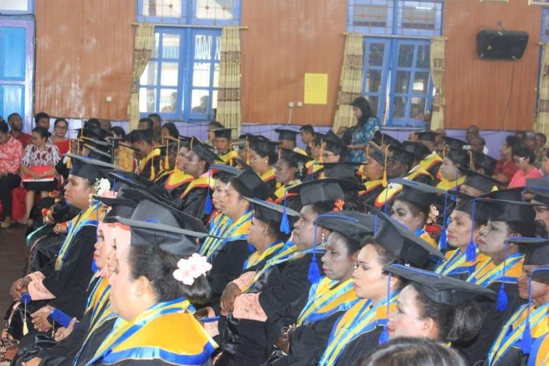 Poltekes Jayapura mewisuda 81 tenaga kesehatan Asmat