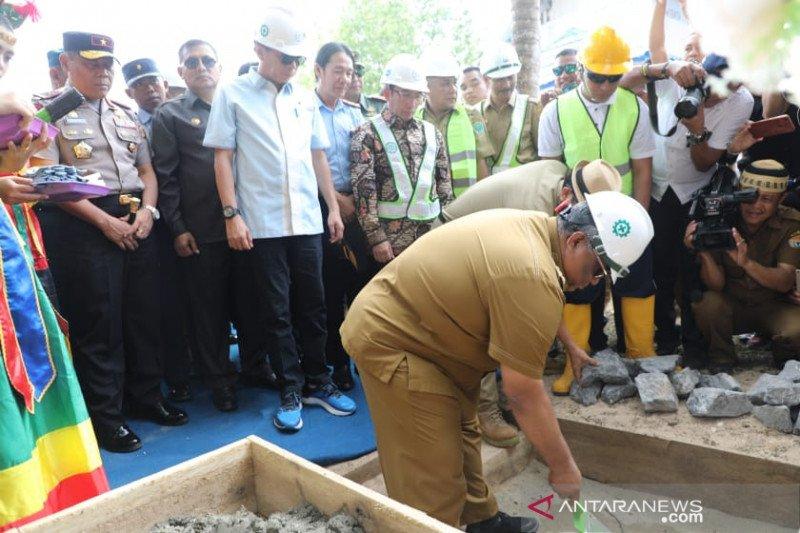 Pembangunan jalan akses jalan pariwisata Kendari-Toronipa dimulai