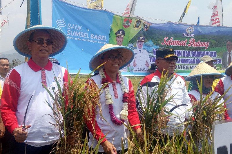 Nuklir bermanfaat bagi produktivitas pertanian rakyat