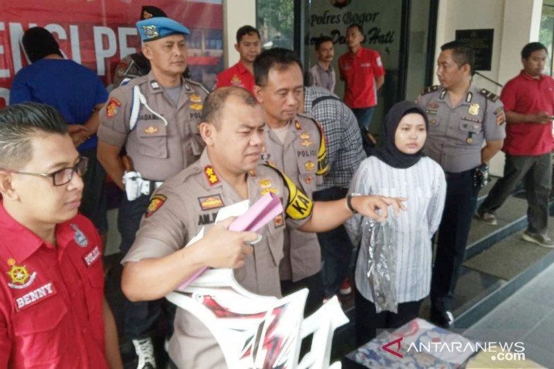 Tersangka cabul di Bogor terekam CCTV