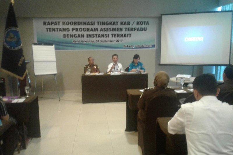 BNNP Sulut meterapkan dua cara rehabilitasi penyalahgunaan Narkotika