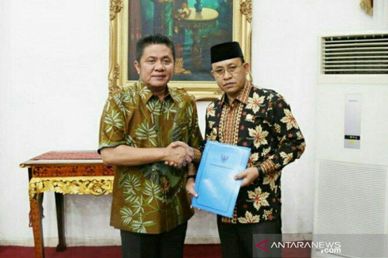 Gubernur Sumsel resmi  angkat Wakil Bupati Muara Enim sebagai Plh