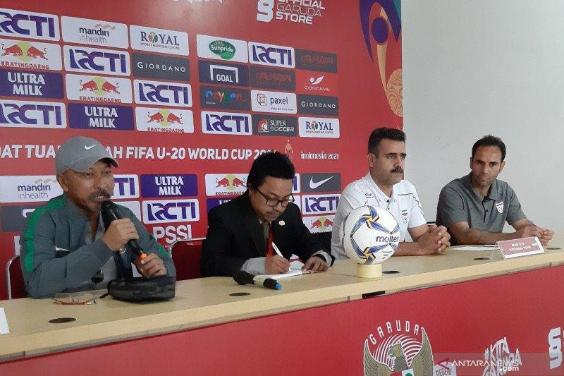 Fakhri Husaini akan turunkan pemain minim jam terbang kontra Iran