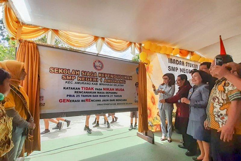 BKKBN-Pemkab Minsel canangkan Sekolah Siaga Kependudukan