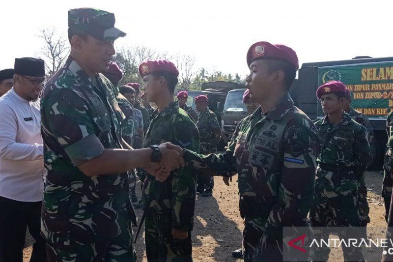 Satgas Rehab-Rekon menambah 400 prajurit di Lombok Utara