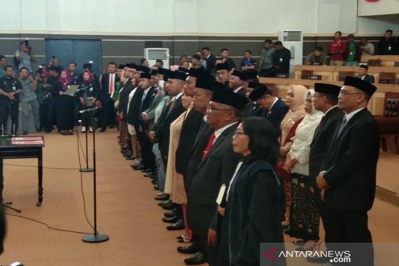 DPRD Kota Kendari resmi bentuk tujuh fraksi