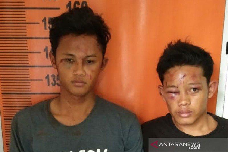 Kepergok curi motor, dua pemuda hampir tewas dihajar massa