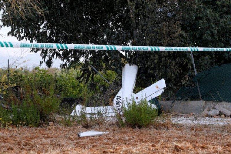 Dua tewas akibat pesawat AU Spanyol jatuh ke laut