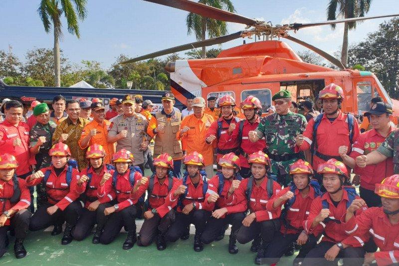 BPBD Sumsel  maksimalkan tujuh helikopter atasi karhutla