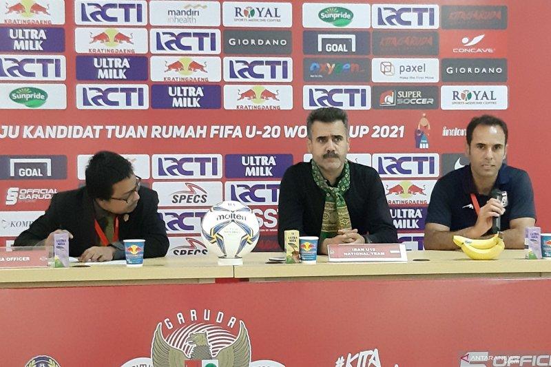 Pelatih Iran belum puas meski taklukkan tim  U-19 Indonesia