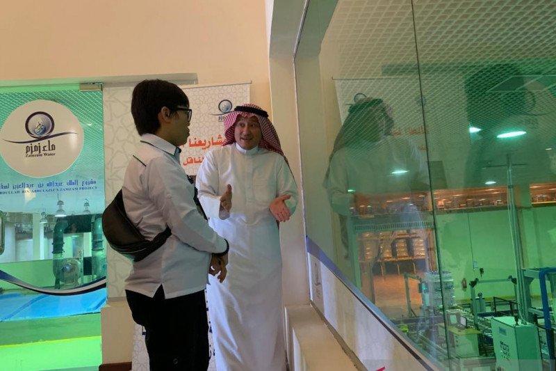 Saudi dirikan perusahaan nirlaba khusus kelola air zamzam