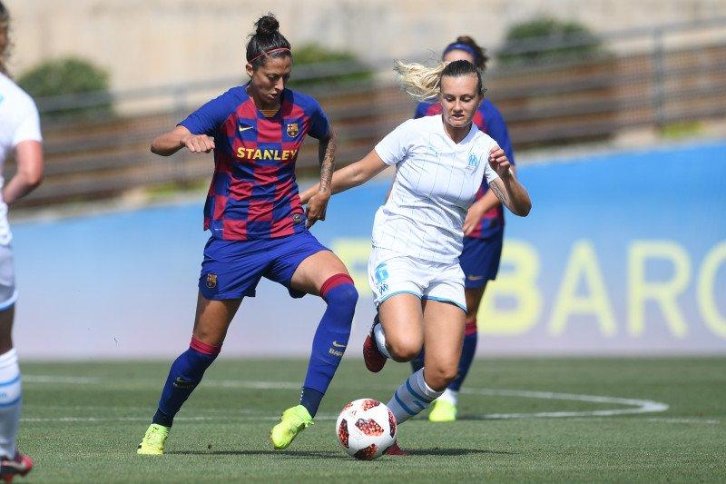 Timnas Barcelona cukur Madrid 9-1 dalam Clasico putri