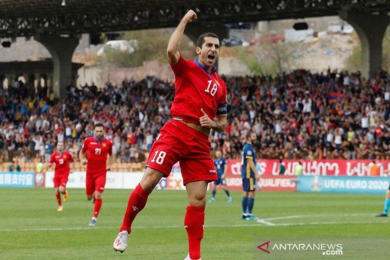 Armenia bekuk Bosnia 4-2, Mkhitaryan cetak dwi gol