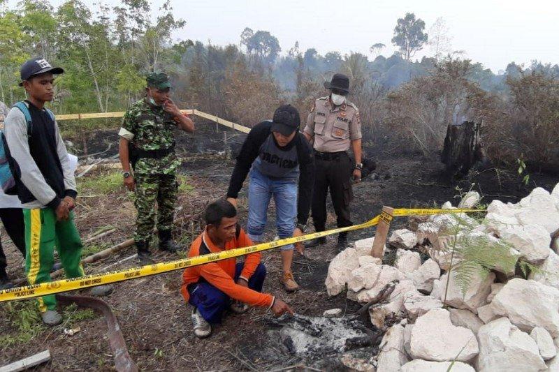Polisi berhasil tangkap terduga pembakar lahan di Barsel