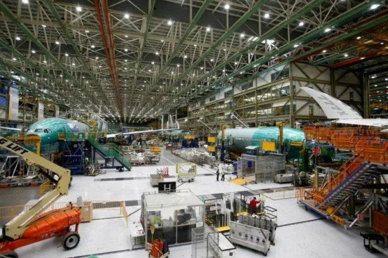 Boeing tunda uji muatan untuk pesawat 777X baru