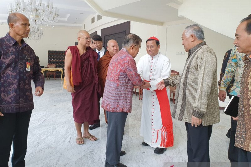 Wapres JK terima tokoh lintas  agama Myanmar
