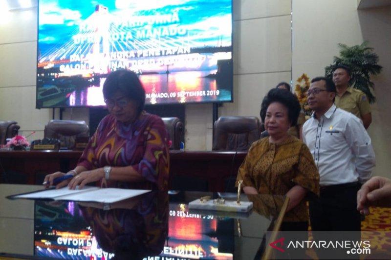 DPRD Manado gelar paripurna internal penetapan pimpinan definitif