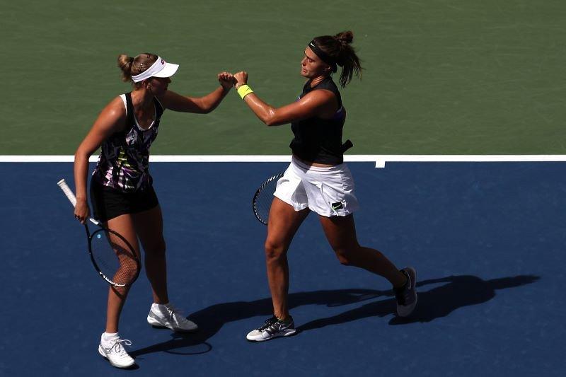 Mertens/Sabalenka juara ganda putri US Open pertama kalinya